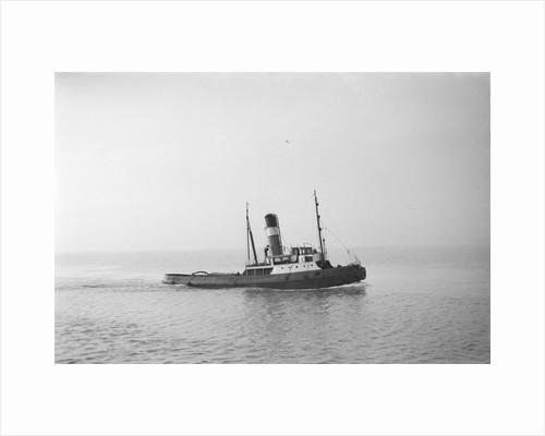 A photograph of 'Brockenhurst' (1913) - under way off Swansea, bound in by unknown