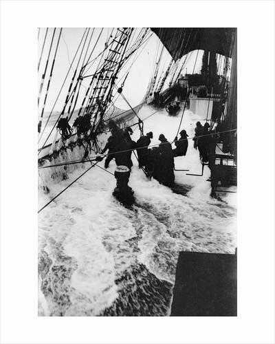 'Parma' (Fi, 1902), 4 masted barque, ex 'Arrow', Ruben de Cloux by Alan Villiers