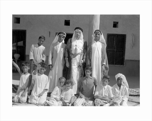 Alan Villiers with friends in Kuwait, 1939 by Alan Villiers