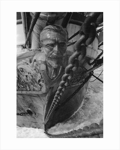 Figurehead of the 'Joseph Conrad' by Alan Villiers