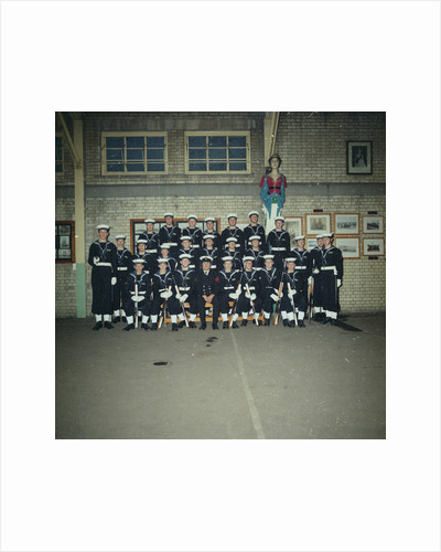 HMS Ganges Formal Guard group photograph, 30th November 1975 by Reginald Arthur Fisk