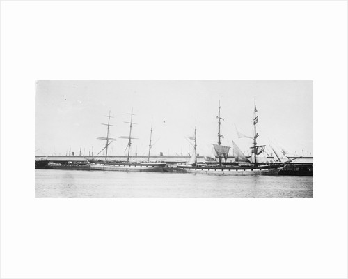 The 'Loch Etive' (Br, 1877) at quayside by unknown