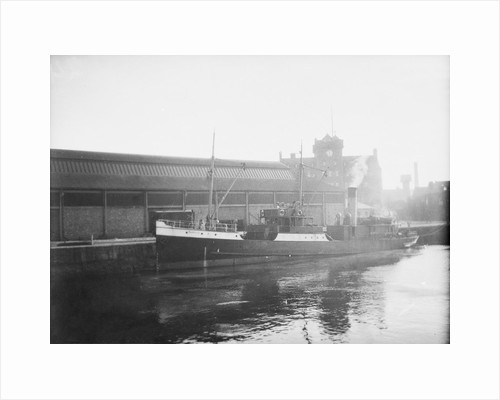 'AMELIA' (Br, 1894) at quayside by unknown