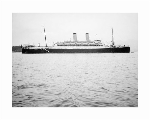 Photograph of 'Oronsay' (1925) at a mooring, Toulon, 1938 by unknown