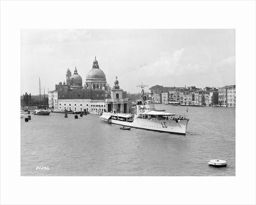 The Italian fleet torpedo boat 'Lince' at Venice, Italy by Marine Photo Service
