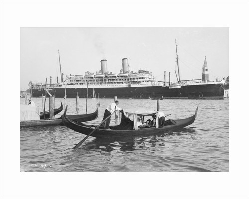The 'Orford' at Venice, Italy by Marine Photo Service