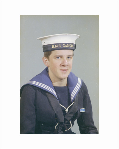 Portrait of John Hancock, HMS Ganges, 14th December 1975 by Reginald Arthur Fisk