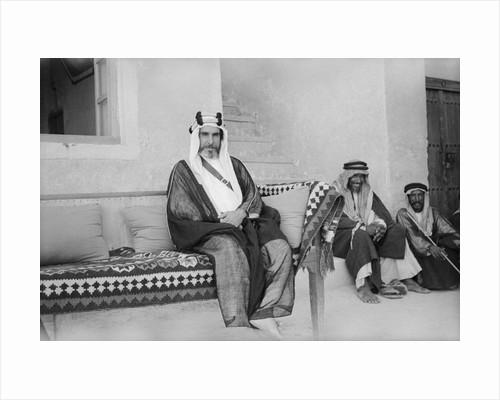 Sheikh Ali Al-Khalifa, Director of Public Security and governor of Kuwait City by Alan Villiers