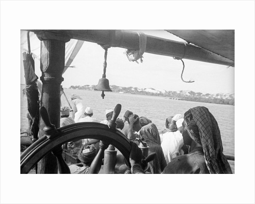 'Triumph of Righteousness' departing from Lamu by Alan Villiers
