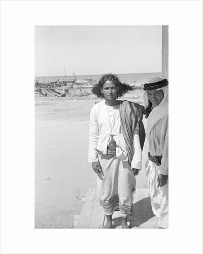 Portrait of a young Jizani man by Alan Villiers