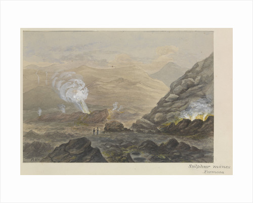 'Sulphur mines, Formosa' [Taiwan] by James Henry Butt