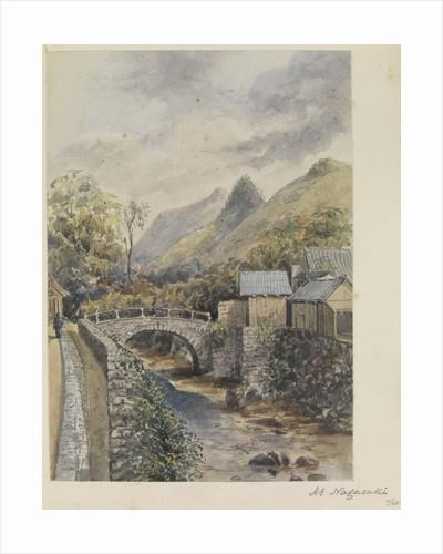 'At Nagasaki' [Japan] by James Henry Butt