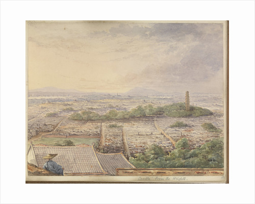 'Canton from the Heights' [Guangzhou, China] by James Henry Butt