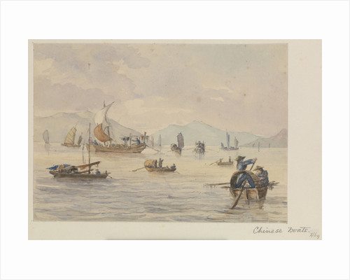 Chinese boats by James Henry Butt