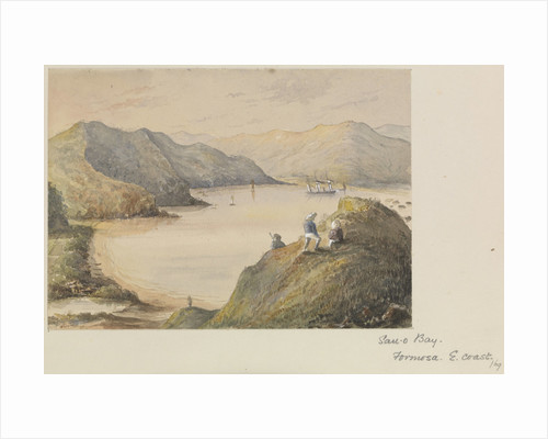 Suao Bay, on the east coast of Formosa, Taiwan by James Henry Butt