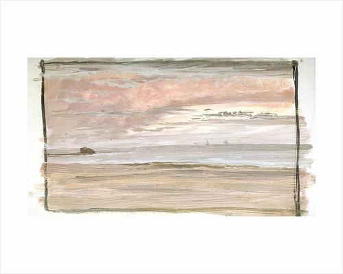 A Coastal View Near Wimereux, Northern France by William Lionel Wyllie