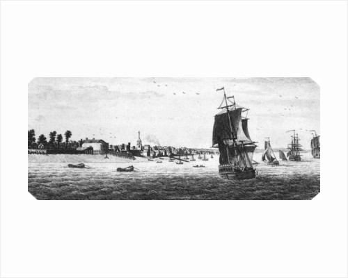 A View of Gravesend in the county of Kent by unknown