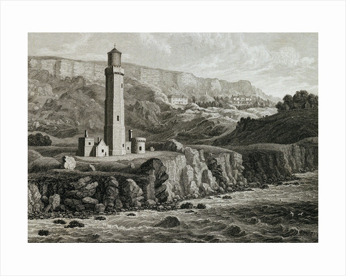 The New Lighthouse, Niton by George Brannon