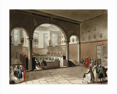 Doctors commons by Thomas Rowlandson