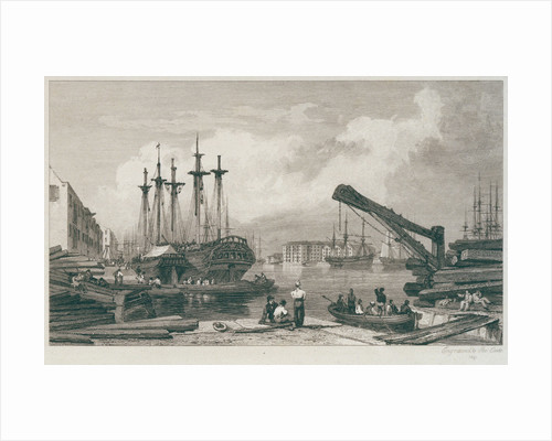 Commercial Docks by George Cooke