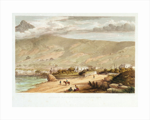 Admiralty House - Entrance to Simon's Town by Thomas William Bowler