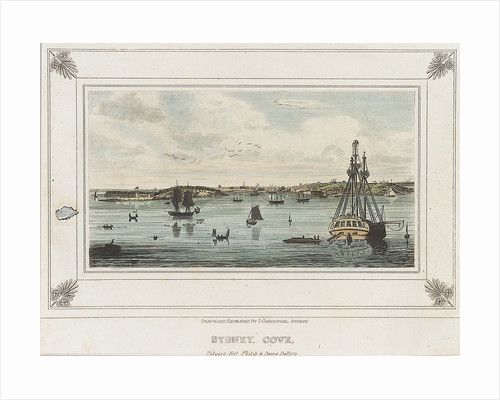 Sydney Cove. Between Fort Philip & Dawes Battery by John Wilson Carmichael