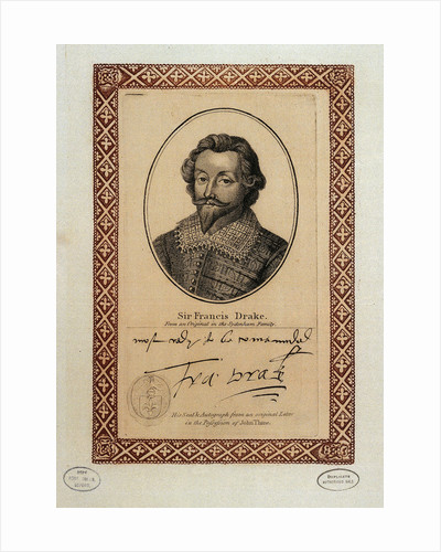 Sir Francis Drake (1540-1596) by unknown