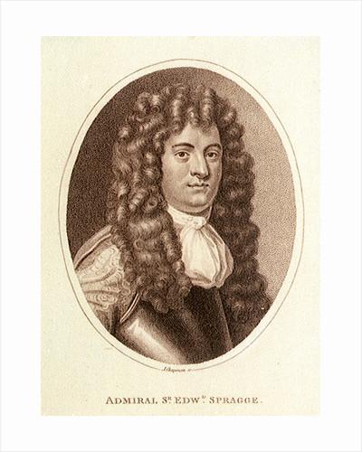 Admiral Sir Edward Spragge by J Chapman