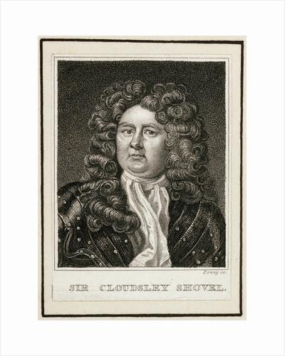 Engraving of Sir Cloudsley Shovel by Michael Dahl