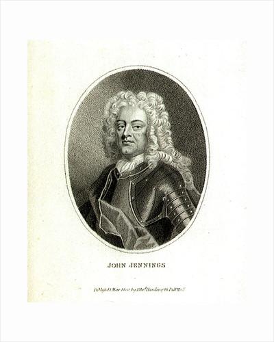 Admiral Sir John Jennings (1664-1743) by Edward Harding