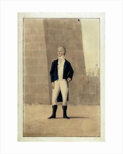 Unknown gentleman wearing officer's uniform of 1795-1812 by unknown