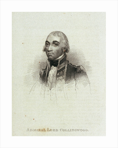 Admiral Lord Collingwood by unknown