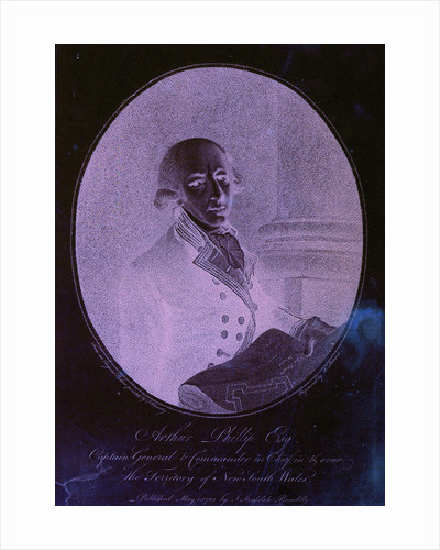 Arthur Phillip Esq Captain General & Commander in Chief, in & over the Territory of New South Wales by Francis Wheatley