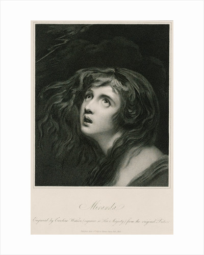 'Miranda' (Emma Hamilton) by George Romney