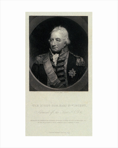 The Right Hon. Earl St. Vincent, Admiral of the Fleet, G.C.B. &c. by William Beechey