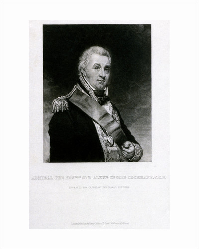 Admiral The Honourable Sir Alexeander Inglis Cochrane, G.C.B. by William Beechey