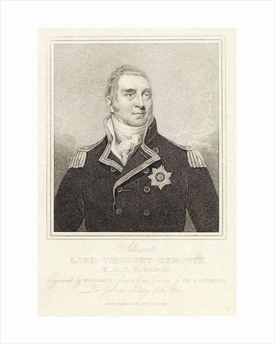 Admiral Lord Viscount Exmouth by Thomas Lawrence