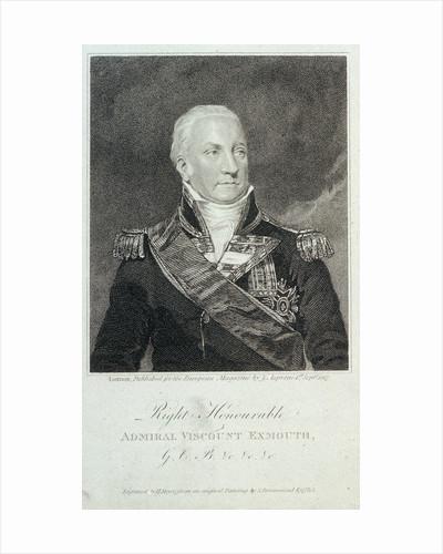 Admiral Viscount Exmouth by Samuel Drummond