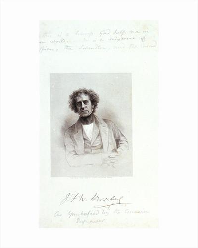 J F W Herschel by Hezekiah Wright Smith