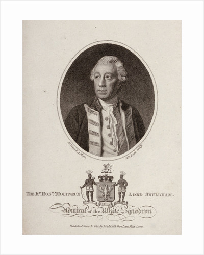 'The Rt. Honble. Molyneux Lord Shuldham Admiral of the White Squadron' by Nathaniel Dance
