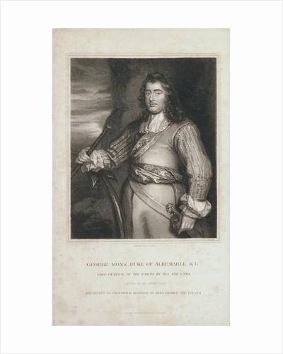 George Monk, Duke of Albemarle by Peter Lely