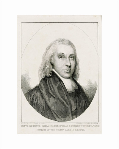 Reverend Edmund Nelson (1722-1802) by W.C. Edwards