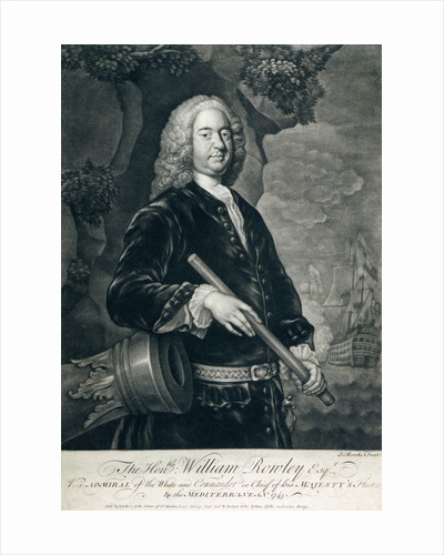 The Honourable William Rowley Esq. by John Brooks