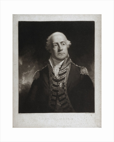 Lord Gambier by William Beechey
