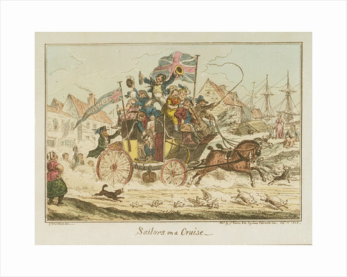 Sailors on a Cruise by George Cruikshank