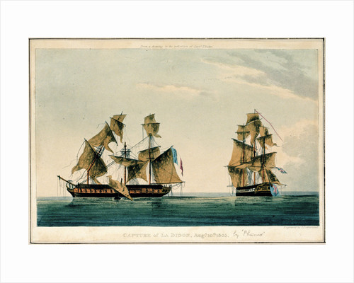 Capture of 'La Didon', 10 August 1805 by Thomas Whitcombe