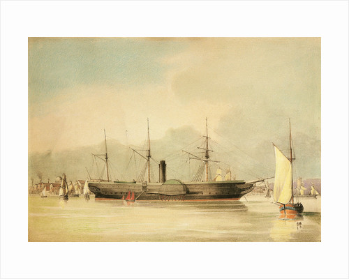 The steamship 'Oriental' by N.J. Kempe
