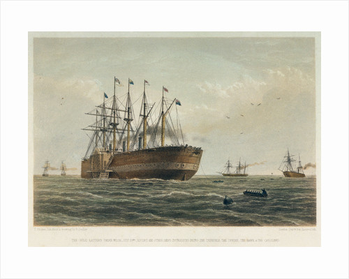 The 'Great Eastern' under way by R. Dudley