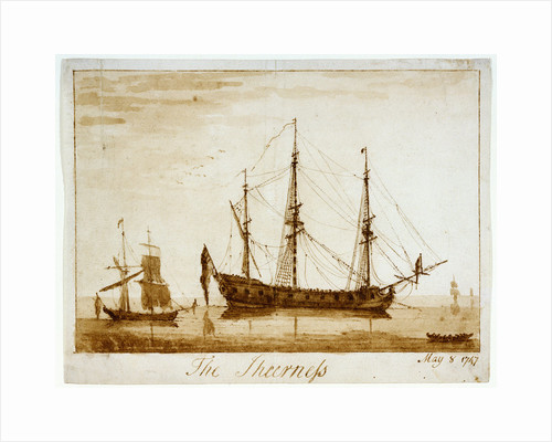 The Sheerness, May 8 1747' by unknown