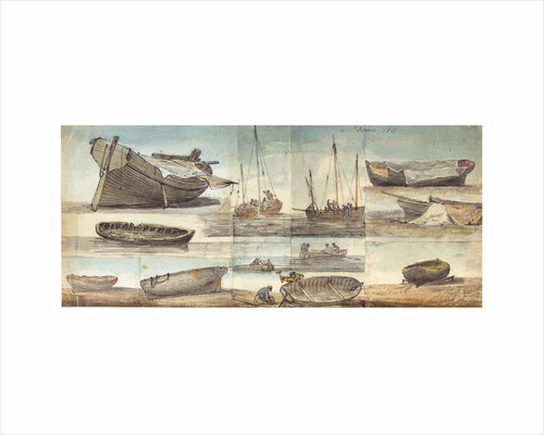 Dover 1815. Pumping by William Payne